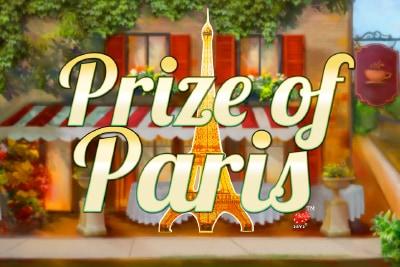 Prize of Paris Mobile Slot Logo
