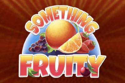 Something Fruity Mobile Slot Logo
