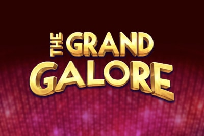 The Grand Galore Mobile Slot Logo
