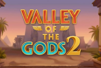 Valley of the Gods 2 Mobile Slot Logo