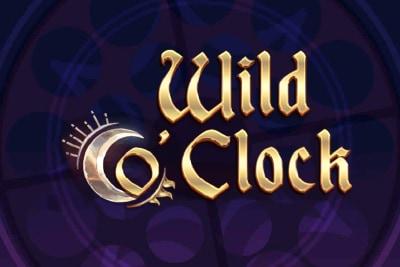 Wild O Clock Mobile Slot Logo