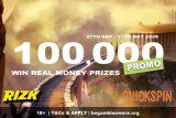 100K Quickspin Slot Tournaments - Win Real Money