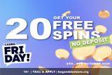 New Casino Friday Free Spins No Deposit Bonus