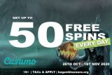 Get Your Casumo Free Spins Every Day This Week