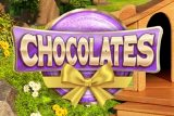 Chocolates Mobile Slot Logo