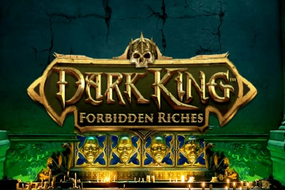 Dark King Forbidden Riches Mobile Slot Logo