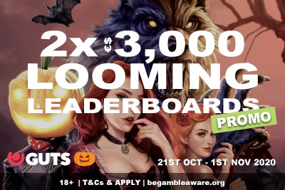GUTS Casino Looming Leaderboards Promo