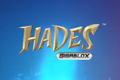 Hades Gigablox Mobile Slot Logo