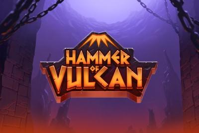 Hammer of Vulcan Mobile Slot Logo