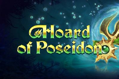 Hoard of Poseidon Mobile Slot Logo