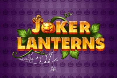 Joker Lanterns Mobile Slot Logo