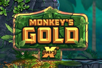 Monkeys Gold Mobile Slot Logo