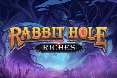 Rabbit Hole Riches Mobile Slot Logo