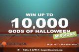 Win up to €£$10K: Yggdrasil Gods of Halloween Slot Tournament