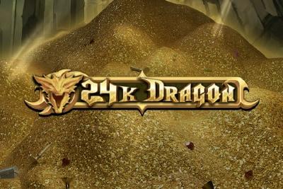 24K Dragon Mobile Slot Logo