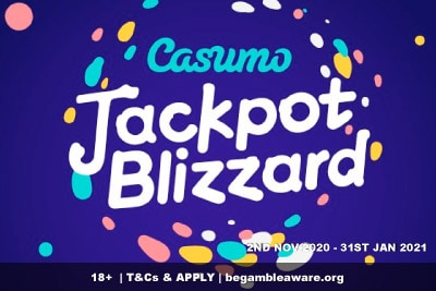 Win Real Money in the Casumo Casino Jackpot Blizzard Promo