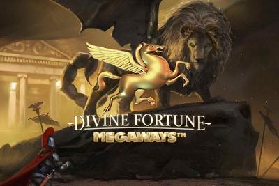 Divine Fortune Megaways Mobile Slot Logo