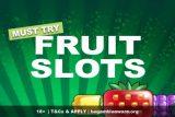 Must Try Fruit Slot Games