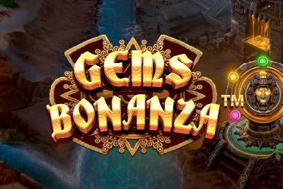 Gems Bonanza Mobile Slot Logo