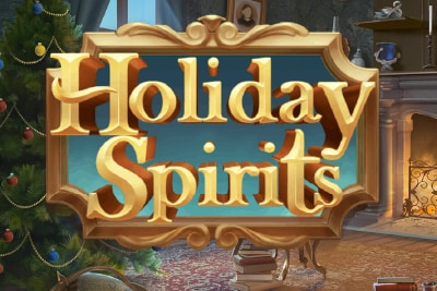 Holiday Spirits Mobile Slot Logo