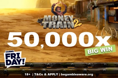 Money Train 2 Slot Big Win at Casino Friday