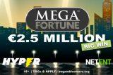 Hyper Casino Slots Player Wins 2.5 Million Mega Fortune Jackpot