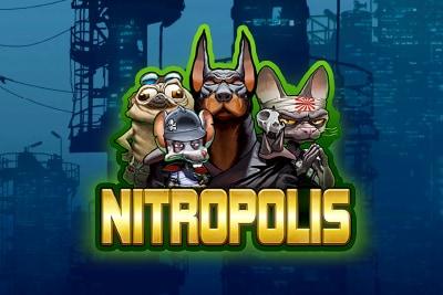 Nitropolis Mobile Slot Logo