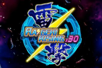 Raigeki Rising X30 Mobile Slot Logo