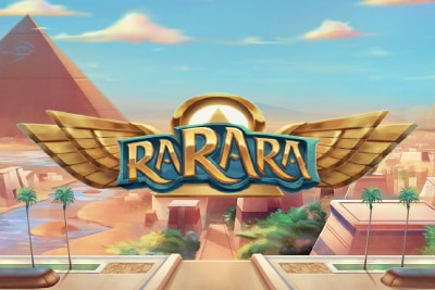 RaRaRa Mobile Slot Logo
