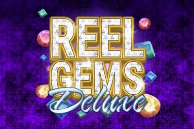Reel Gems Deluxe Mobile Slot Logo
