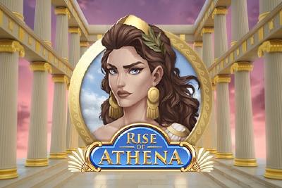 Rise of Athena Mobile Slot Logo