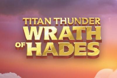 Titan Thunder Wrath of Hades Mobile Slot Logo
