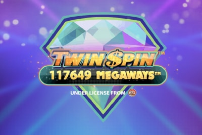 Twin Spin Megaways Mobile Slot Logo