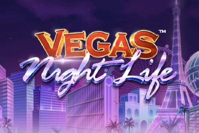 Vegas Night Life Mobile Slot Logo
