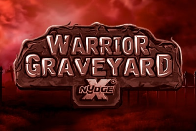 Warrior Graveyard xNudge Mobile Slot Logo