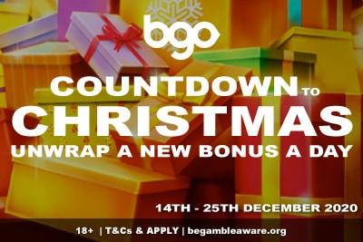 BGO Casino Countdown to Christmas Promo