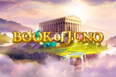 Book of Juno Mobile Slot Logo