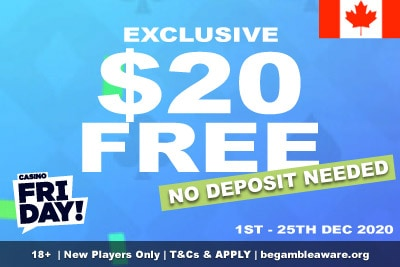 Casino Friday Canada: Get Your Exclusive Free Money Bonus
