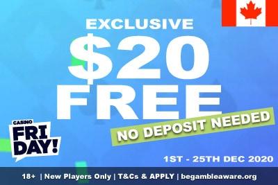 Casino Friday Canada: Get Your Exclusive Free Money Bonus