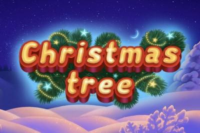 Christmas Tree Mobile Slot Logo