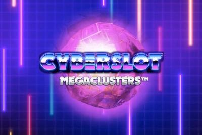 Cyberslot Megaclusters Mobile Slot Logo