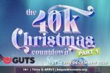 Enter the €$40,000 GUTS Casino Christmas Countdown