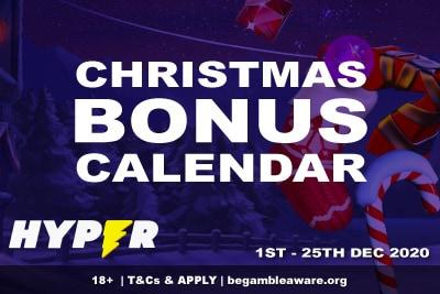 Hyper Casino Christmas Bonus Calendar