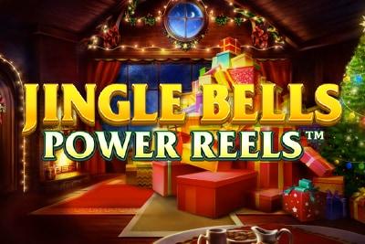 Jingle Bells Power Reels Mobile Slot Logo