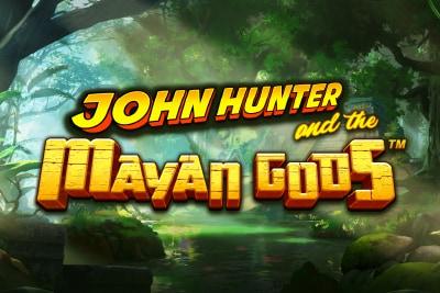 John Hunter and the Mayan Gods Slot Logo