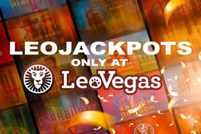 Win Over 5 Million in the LeoJackpots Only at Leo Vegas