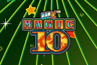 Magic 10 Mobile Slot Logo