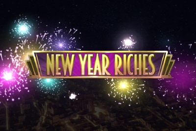 New Year Riches Slot Logo