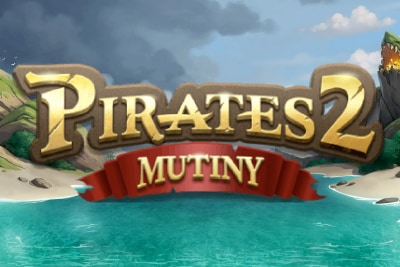 Pirates 2 Mutiny Mobile Slot Logo