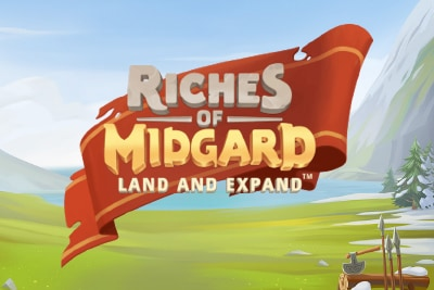 Riches of Midgard Land and Expand Slot Logo